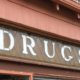 Vintage Stained glass drugstore sign - one of a kind